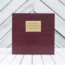 3in D-Ring Binder – Cranberry